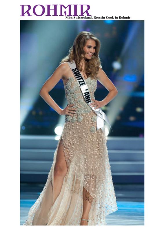 12.Miss Universe Kerstin Cook in Rohmir
