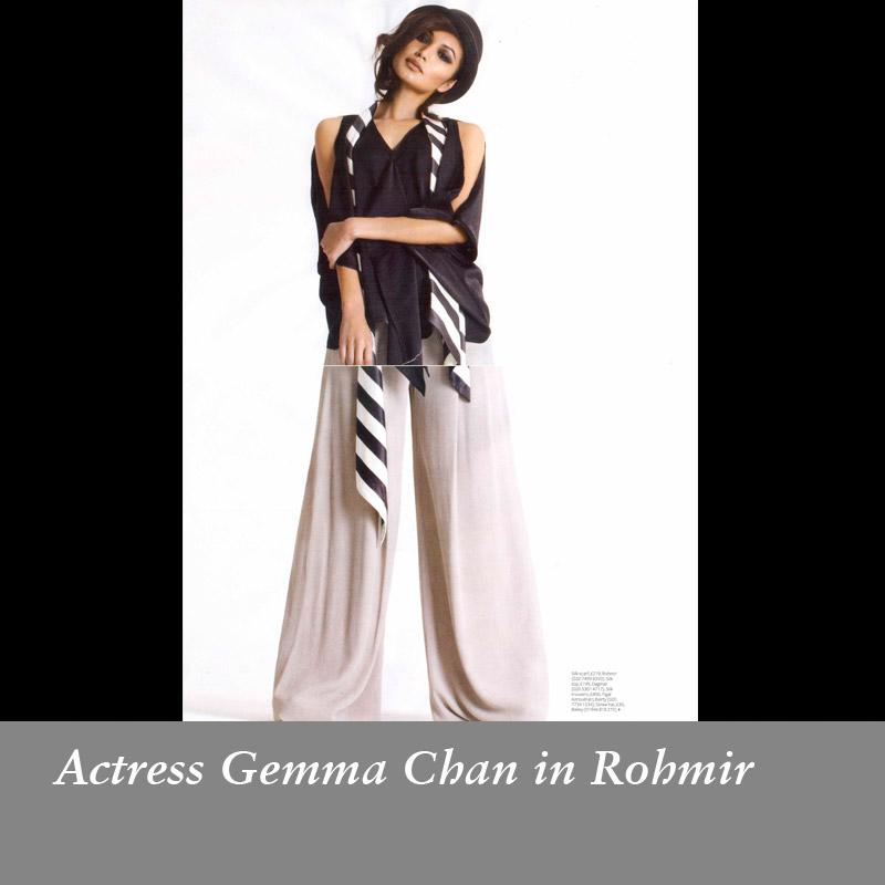 Actress-Gemma-Chan-in-Rohmir