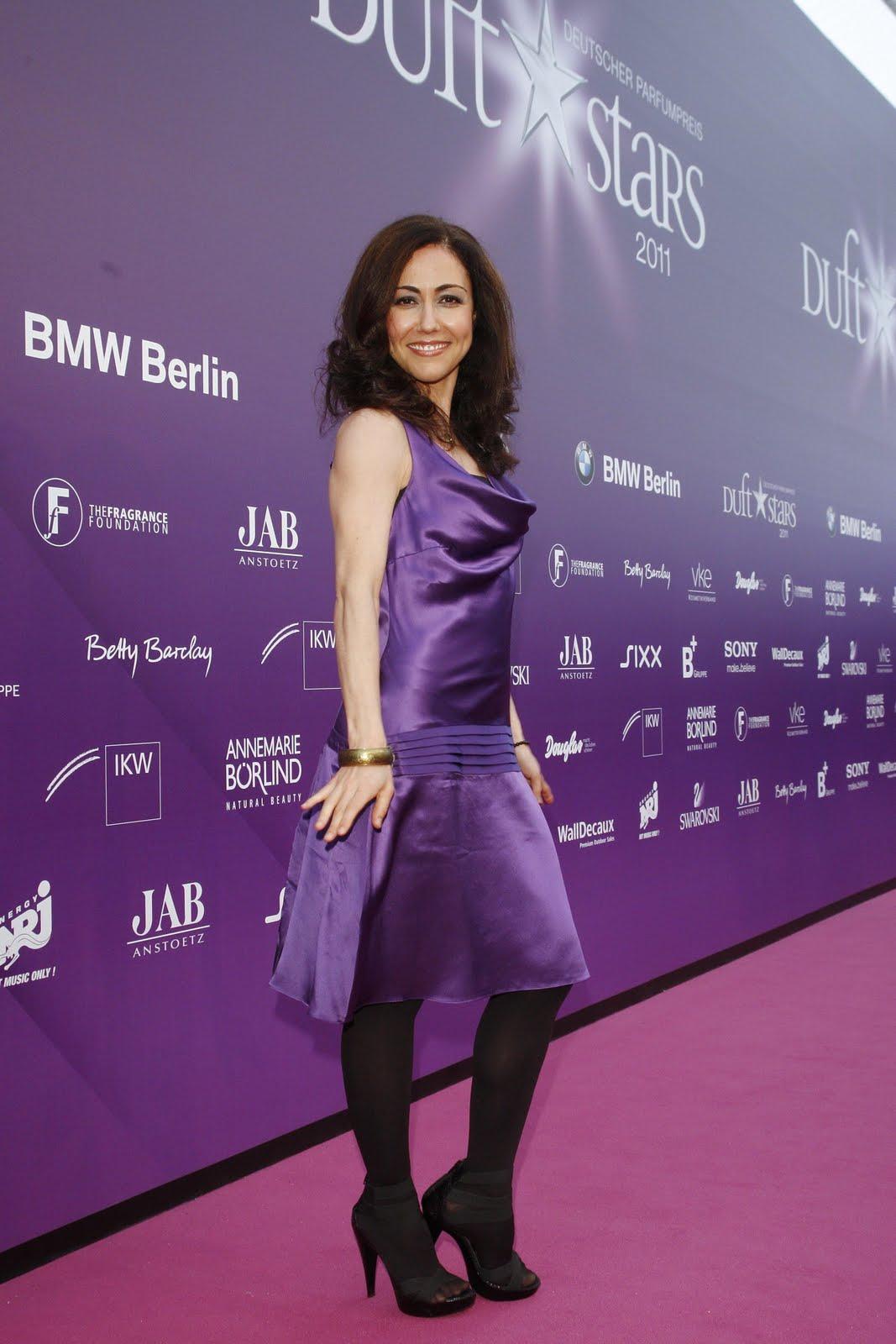 Anastasia Zampounidis in Rohmir dress