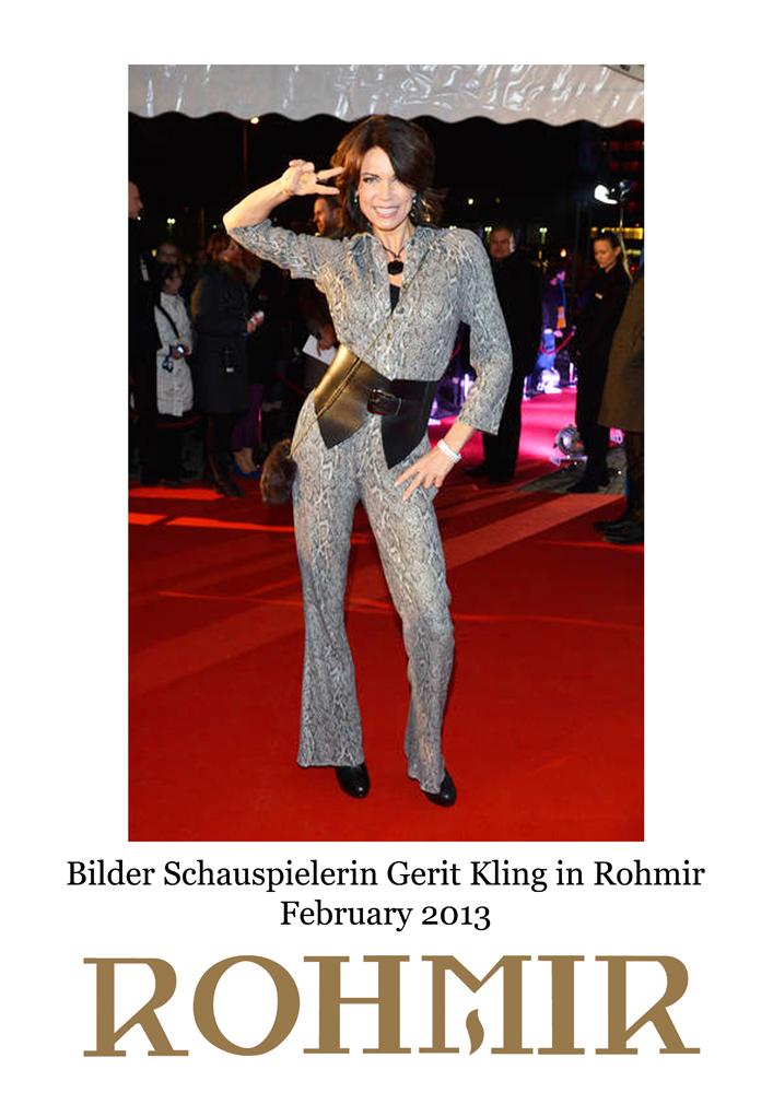 Bilder Schauspielerin Gerit Kling in Rohmir