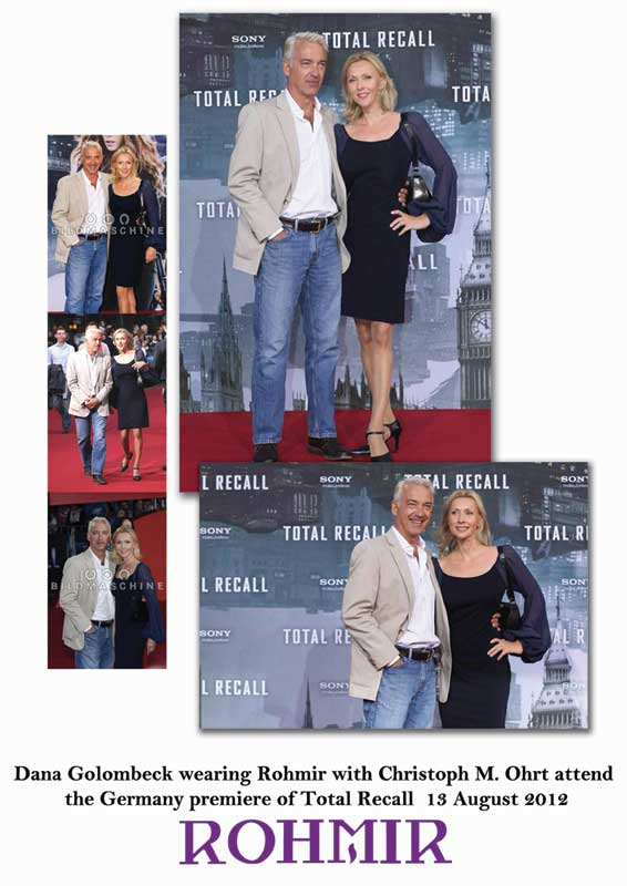 Dana-Golombeck-wearing-Rohmir-attend-the-Germany-premiere