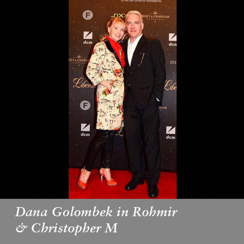 Dana-Golombek-in-Rohmir,-Septemer-2013--Dana-Golombek-&-Christopher-M-at-the-premiere-of-'-Liberace'-