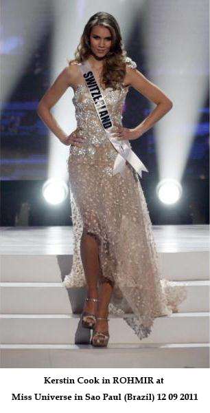 Dress by Olga Roh_ Rohmir at Miss Universe 2011