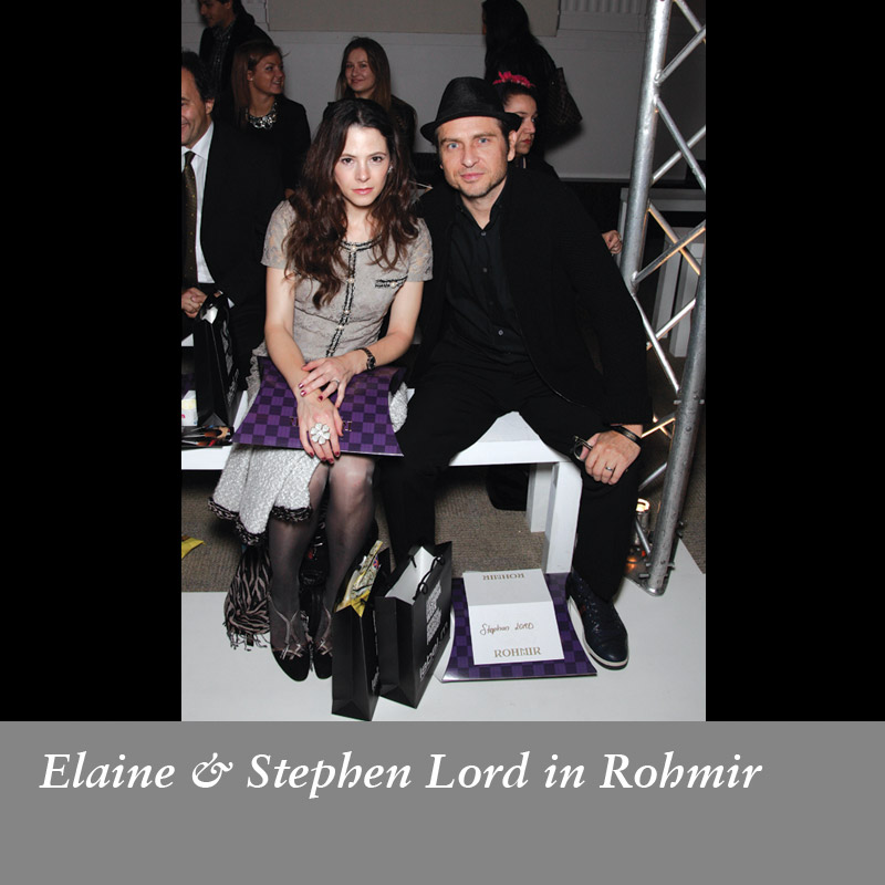 Elaine-&-Stephen-Lord-in-Rohmir-SS14-Fashion-Show,-September-2013
