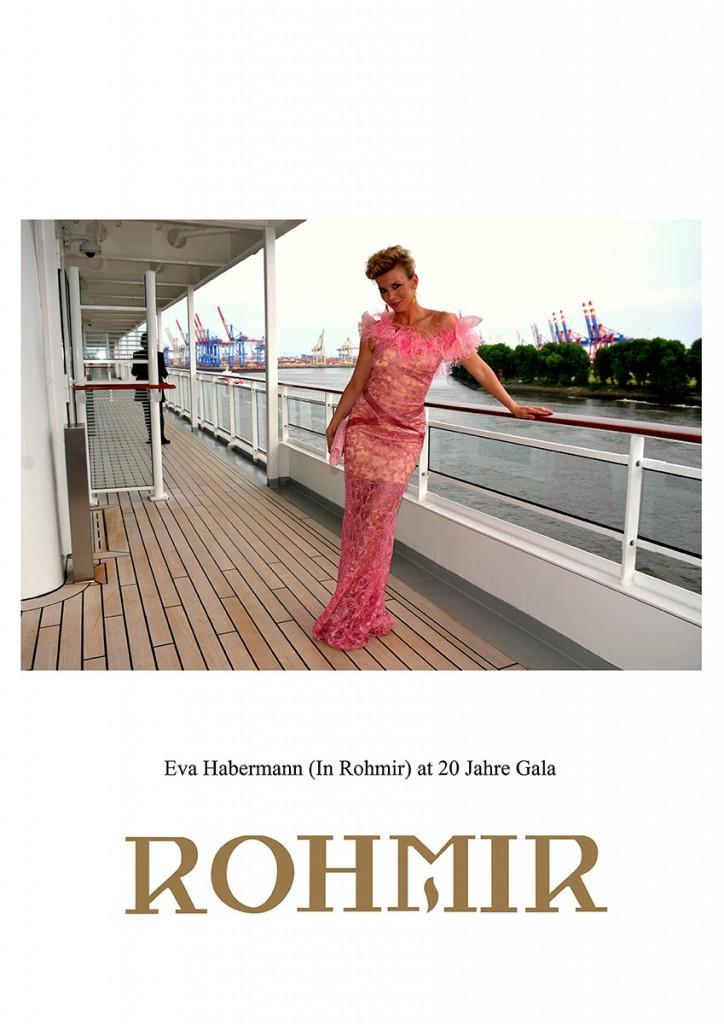 Eva-Habermann-In-Rohmir-at-20-Jahre-Gala