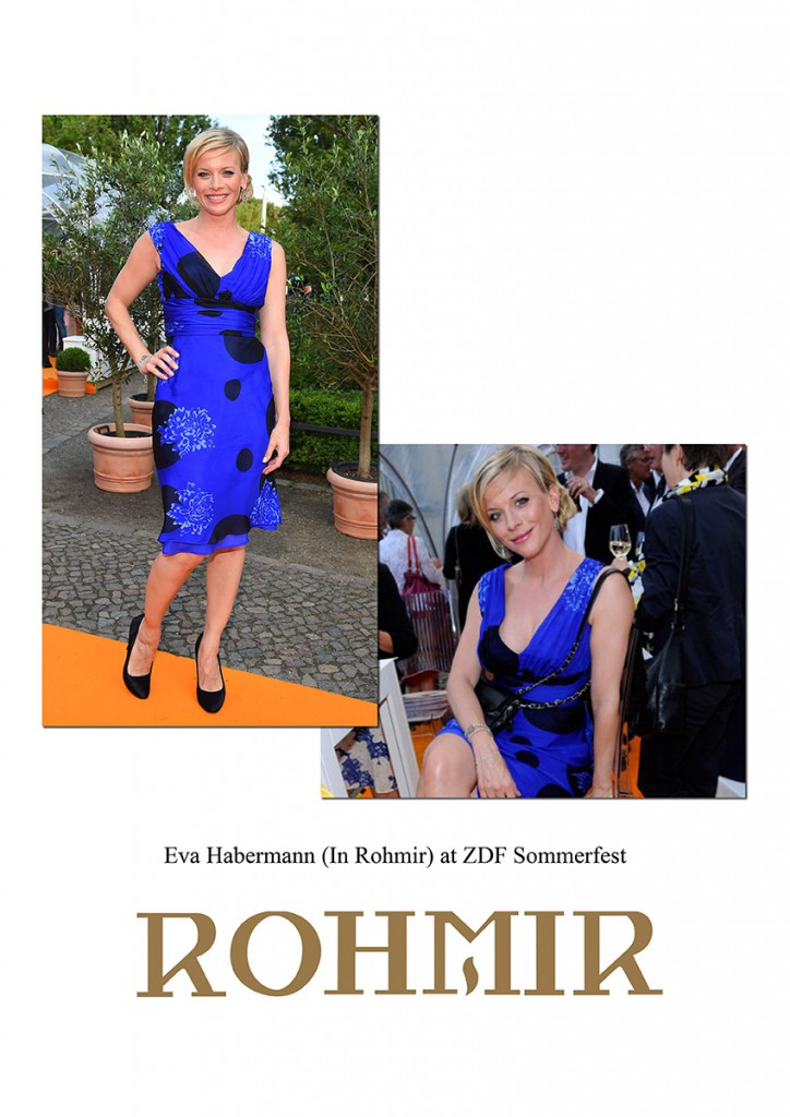 Eva-Habermann-In-Rohmir-at-ZDF-Summerfest