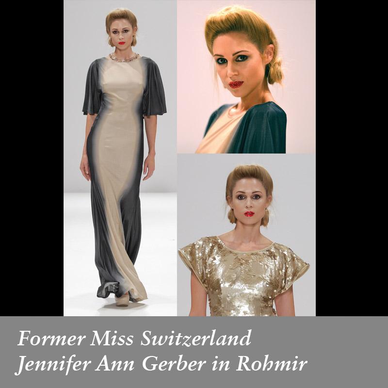 Former-Miss-Switzerland-Jennifer-Ann-Gerber-in-Rohmir-SS14-Fashion-Show,-sept-2013