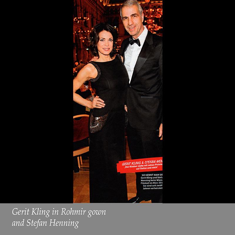 Gerit King with Stefan Henning