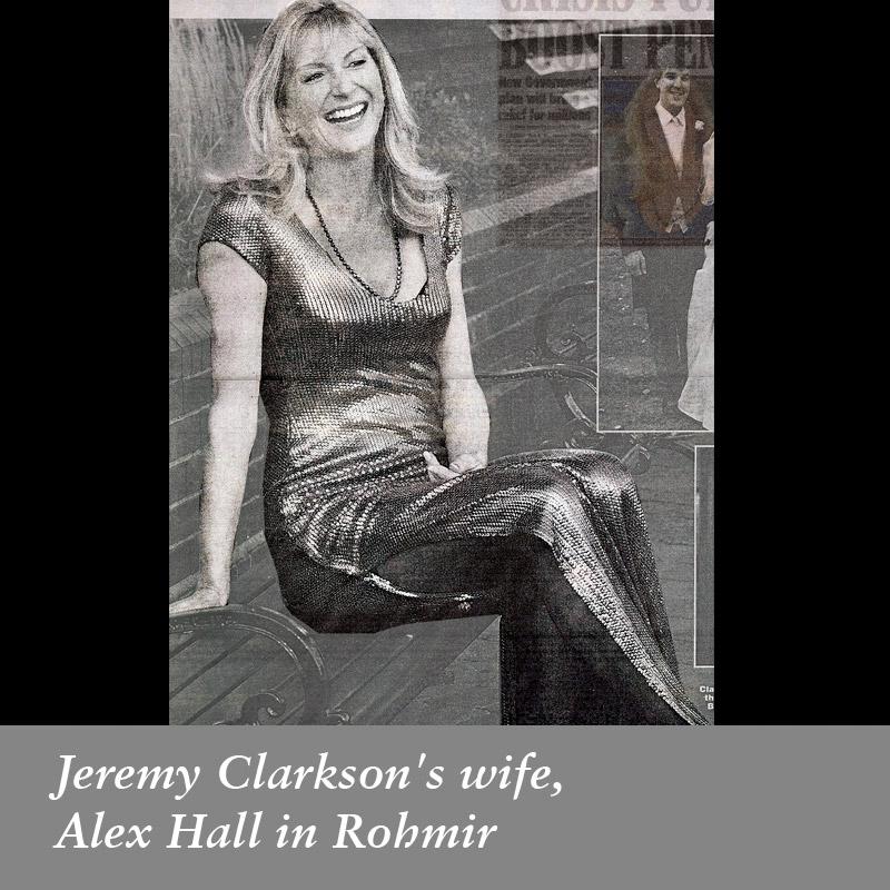 Jeremy-Clarkson's-wife,-Alex-Hall-in-Rohmir