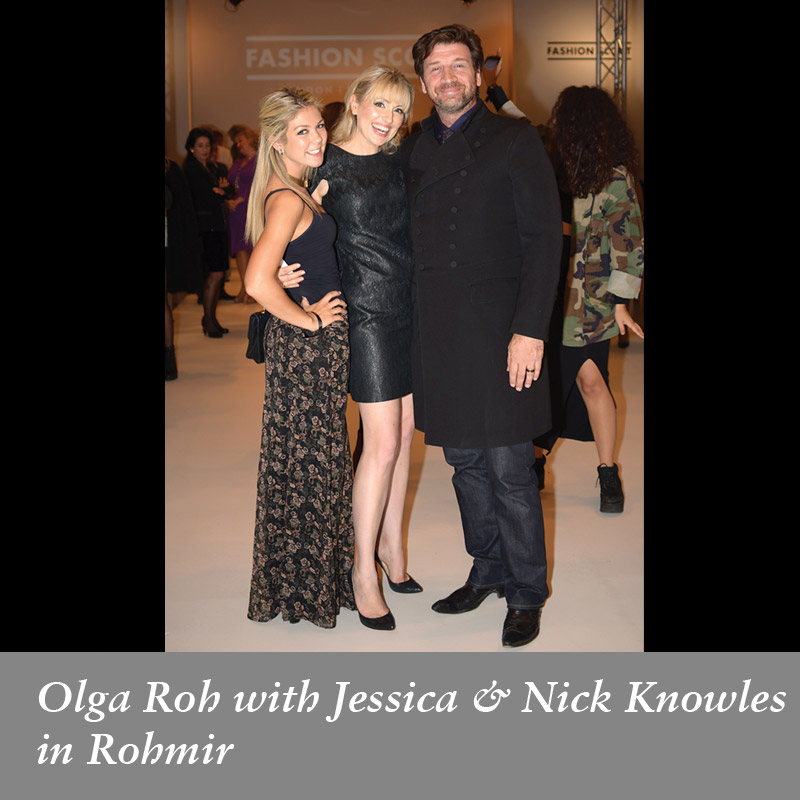 Jessica-and-Nick-Knowles-with-Olga-Roh-in-Rohmir-SS14-Fashion-Show-September-2013
