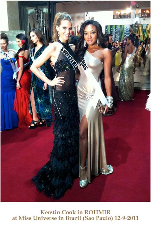 Kerstin Cook in ROHMIR at Miss Universe in Brazil Sao Paulo 2011