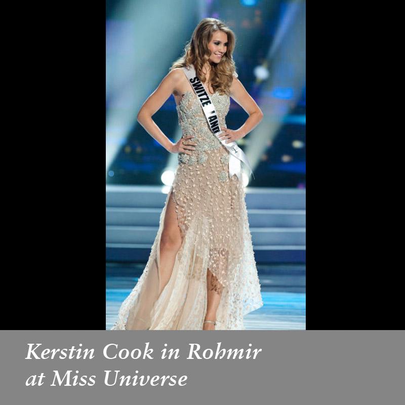 Kerstin Cook in Rohmir at Miss Universe