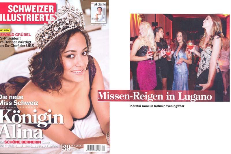 Kestin cook in Rohmir - Schweizer Illustrierte magazine