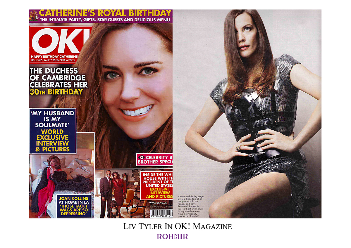 Liv Tyler in OK! Magazine