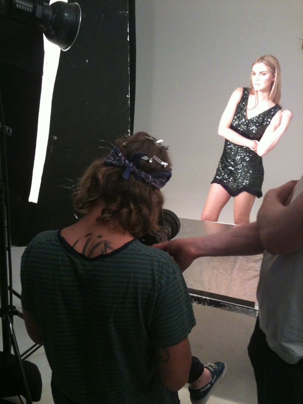 Making-of-new-campaign-in-Rankin-Studio,-London2