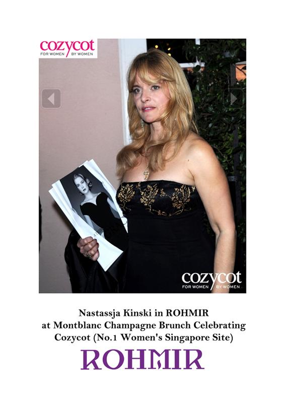 Nastassja Kinski in Rohmir (Cozycot)