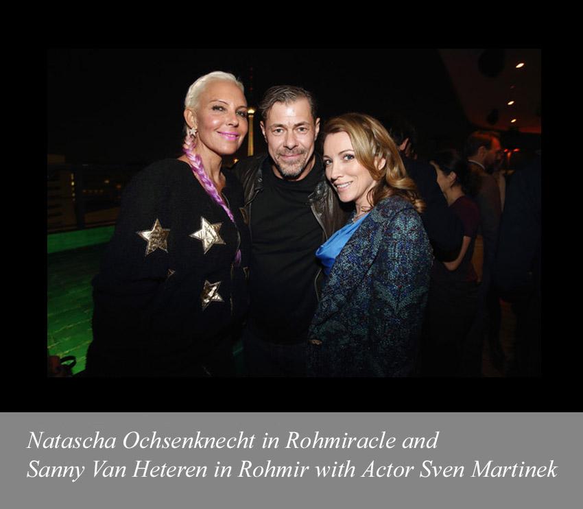 Natascha-Ochsenknecht-in-Rohmiracle-and-Sanny-Van-Heteren-in-Rohmir-with-Actor-Sven-Martinek