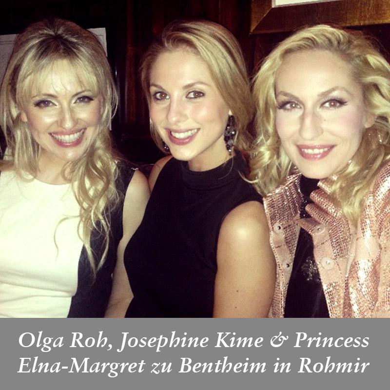 Olga-Roh,-Josephine-Kime-&-Princess-Elna-Margret-zu-Bentheim-in-Rohmir-SS14-London-Fashion-Show-After-Party,-September-2013