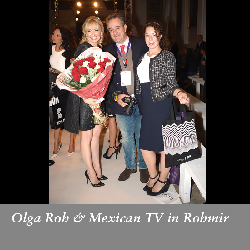 Olga-Roh-&-Mexican-TV-in-Rohmir-SS14-Fashion-Show,-September-2013