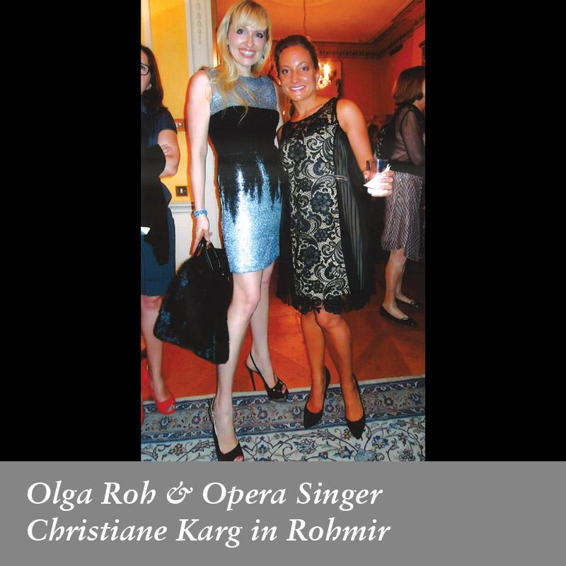 Olga-Roh-&-Opera-Singer-Christiane-Karg-in-Rohmir,-November-2013