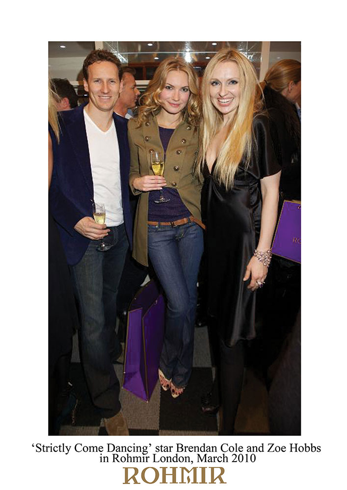 Strictly-Come-Dancing-star-Brendan-Cole-and-Zoe-Hobbs-in-Rohmir-London-launch-party-Mar-2010