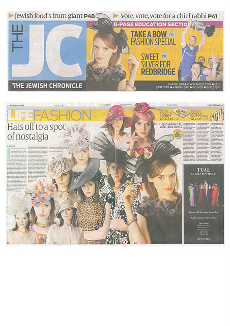 The Jewish Chronicle April - Rohmir leo print dress