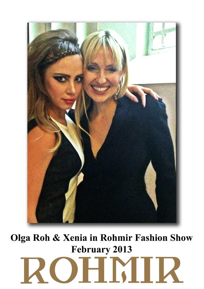 Olga-Roh-&-Xenia-in-Rohmir-Fashion-Show