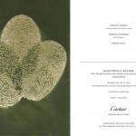 cartier special event invitation card
