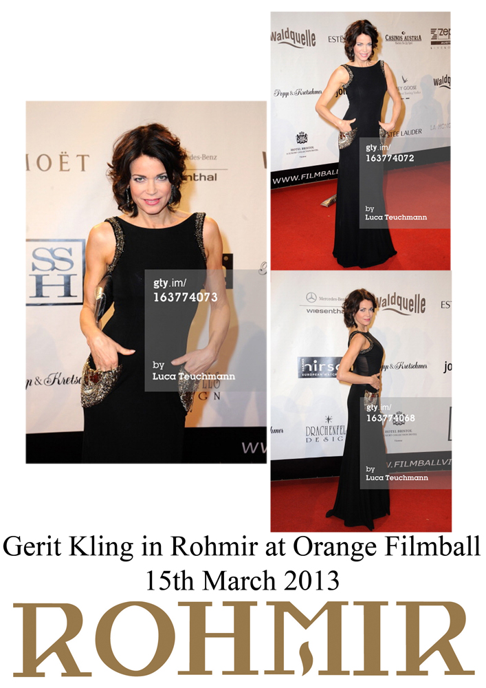 Gerit Kling in Rohmir at Orange Filmball 15th march 2013
