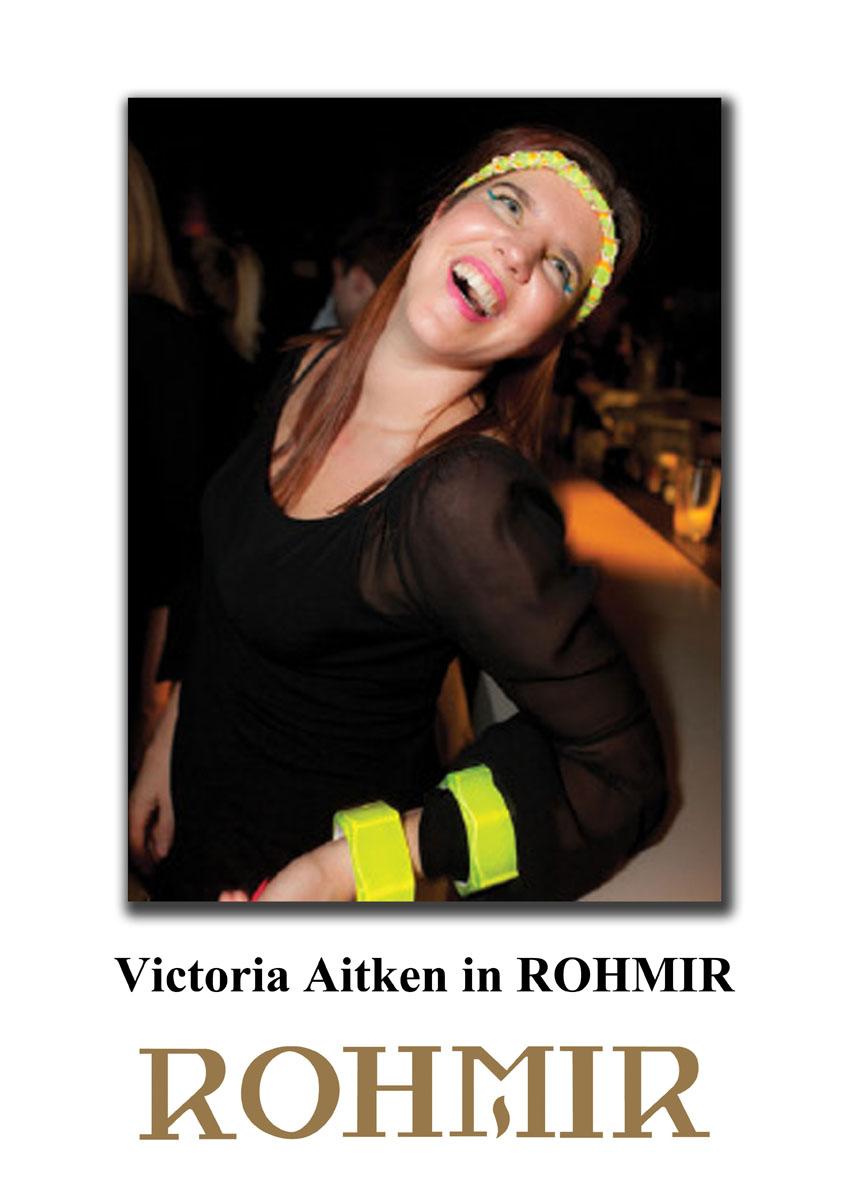 Victoria Aitken in ROHMIR