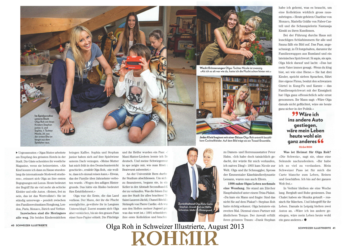 Press clippings – August 2013 | ROHMIR
