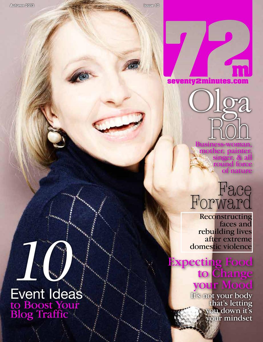 olga roh in 72m magazine cover