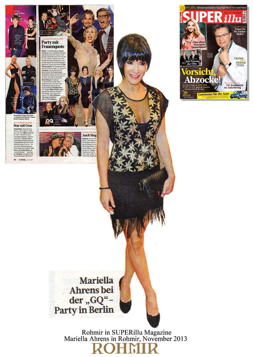 Rohmir-in-SUPERillu-Magazine,-Mariella-Ahrens-in-Rohmir,-Nov-2013