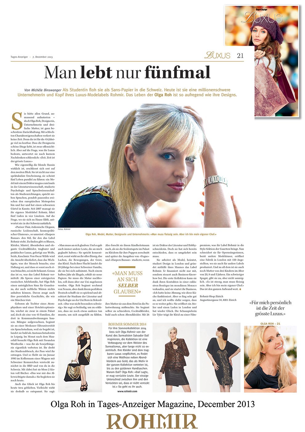 Olga-Roh-in-Tages-Anzeiger-Magazine-December-2013