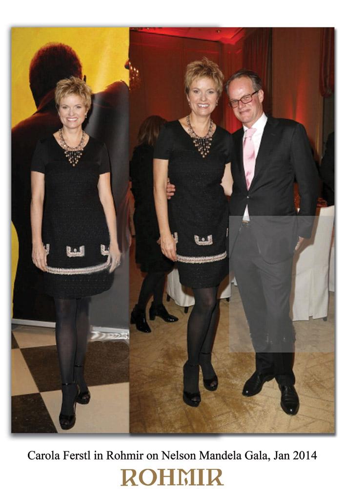 Carola-Ferstl-in-Rohmir-on-Nelson-Mandela-Gala,-Jan-2014