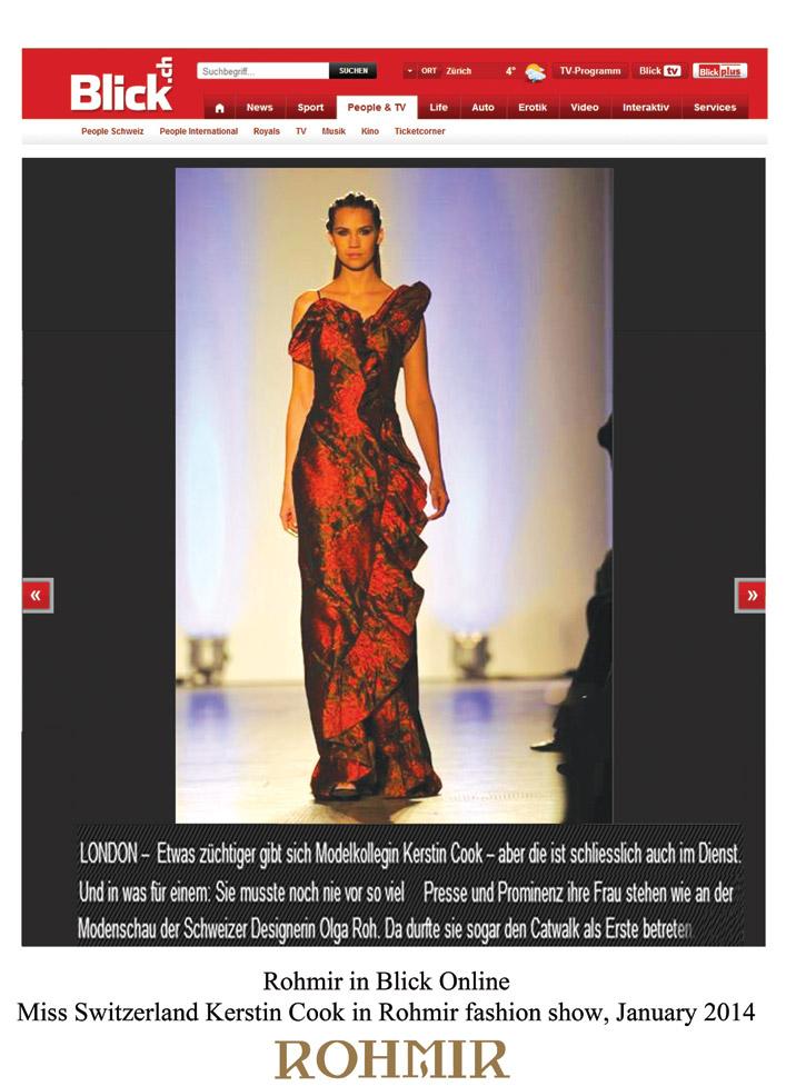 Rohmir-in-Blick-Online,-Miss-switzerland-kerstin-cook-in-rohmir-fashion-show-Jan-2014