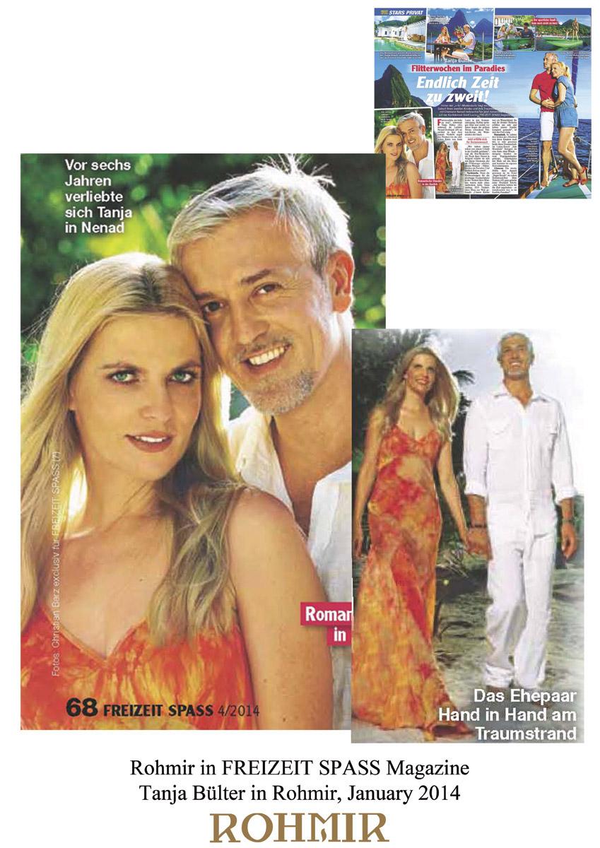 Rohmir-in-FREIZEIT-SPASS-magazine-Tanja-Buelter-in-Rohmir-January-2014