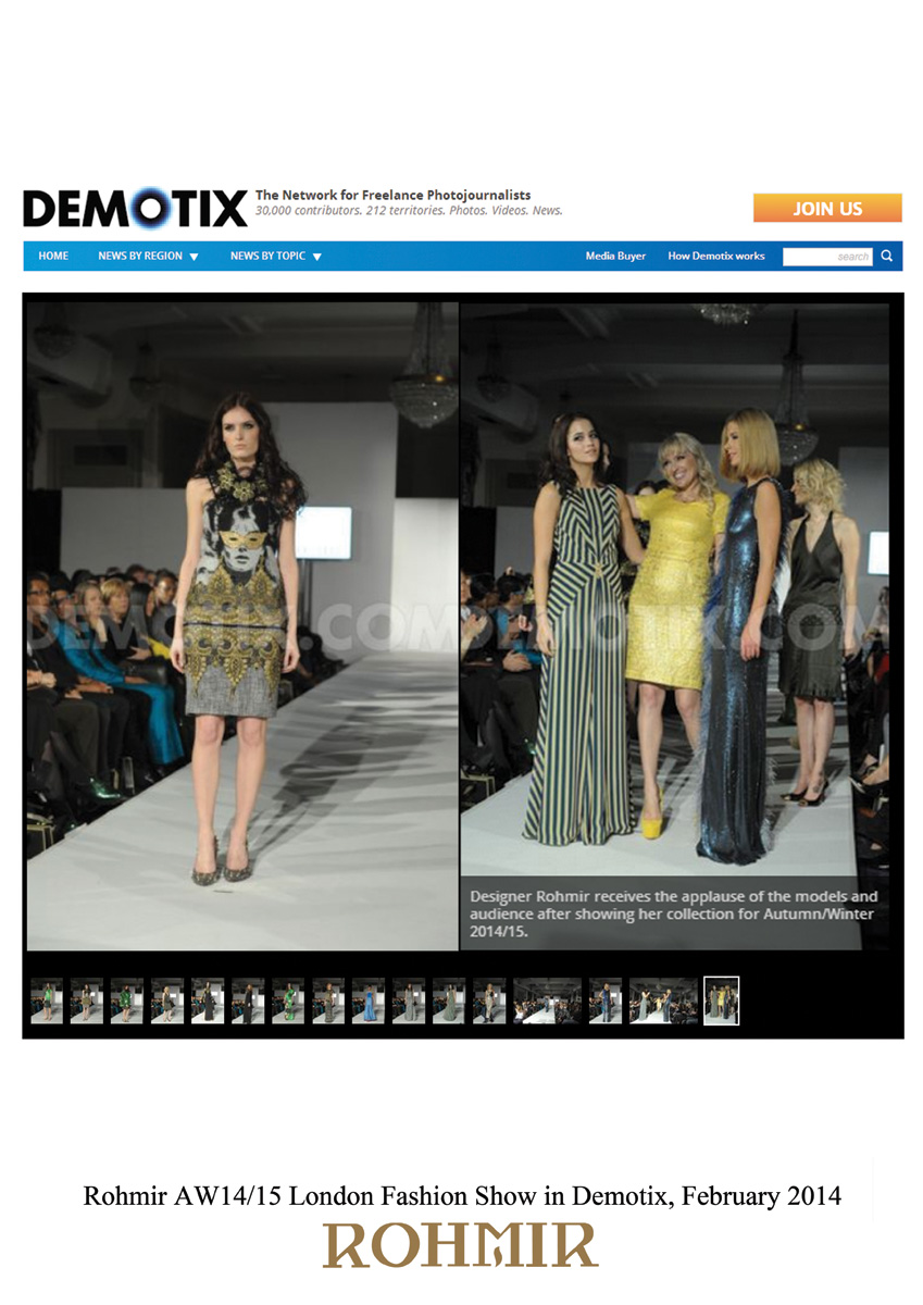 Rohmir-AW1415-London-Fashion-Show-in-Demotix-February-2014