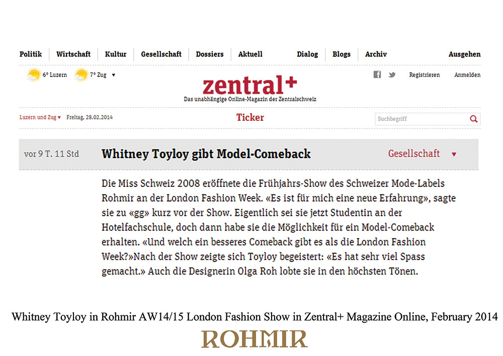 Whitney-Toyloy-in-Rohmir-AW1415-London-Fashion-Show-in-Zentral-Magazine-Online-February-2014