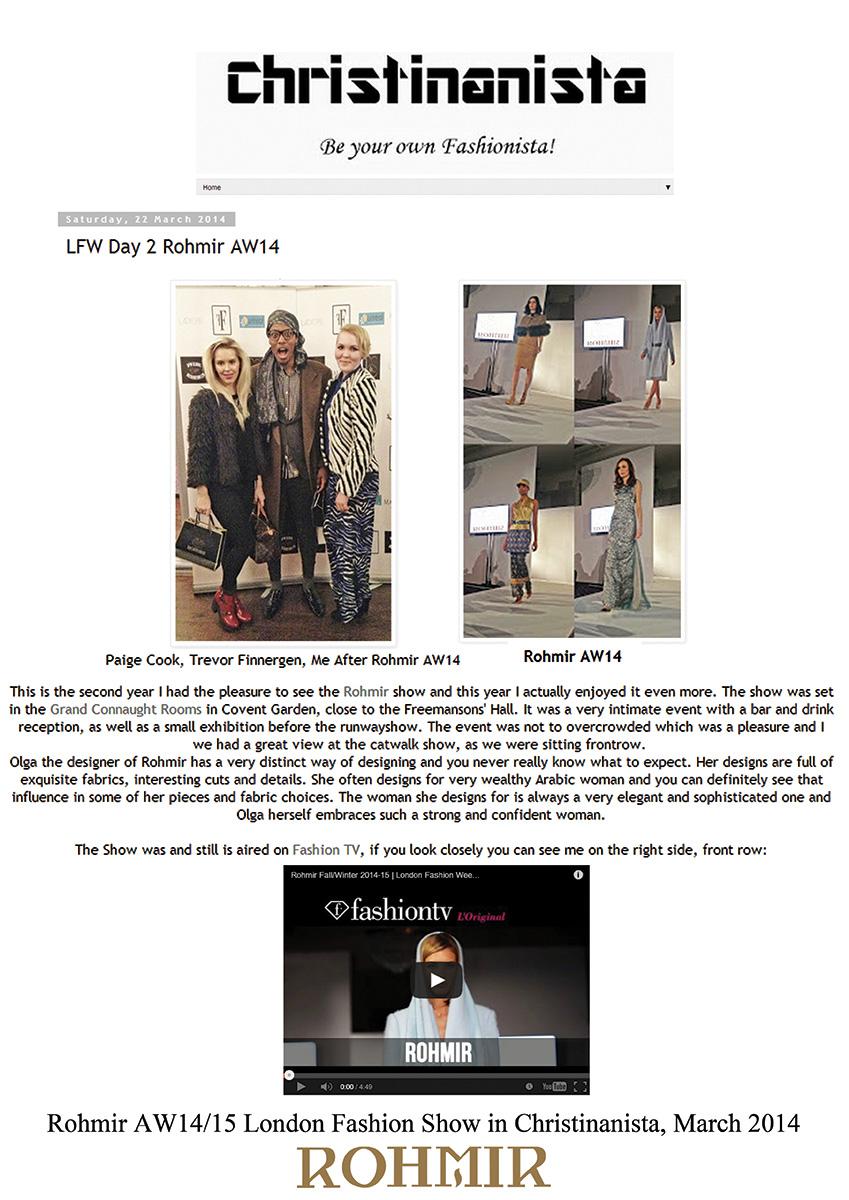 Rohmir-AW1415-London-Fashion-Show-in-Christinanista-March-2014