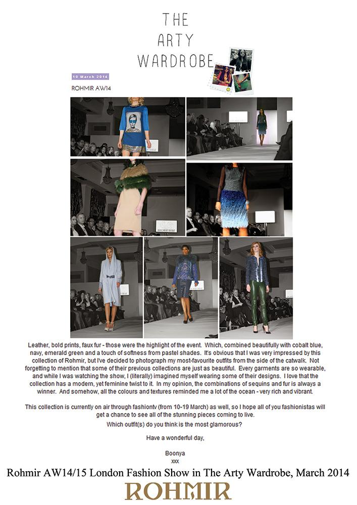 Rohmir-AW1415-London-Fashion-Show-in-The-Arty-Wardrobe-March-2014