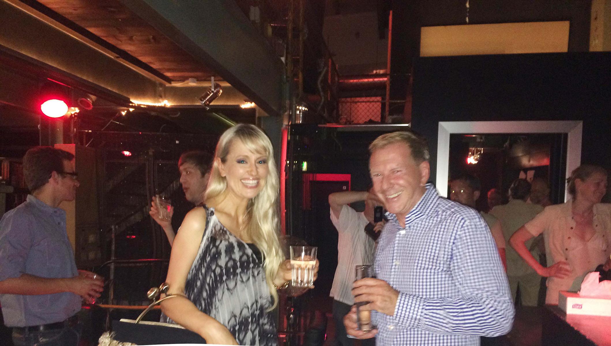 Olga-Roh-on-SRF-with-Kurt-Aeschbacher-on-12th-June-2014-(4)