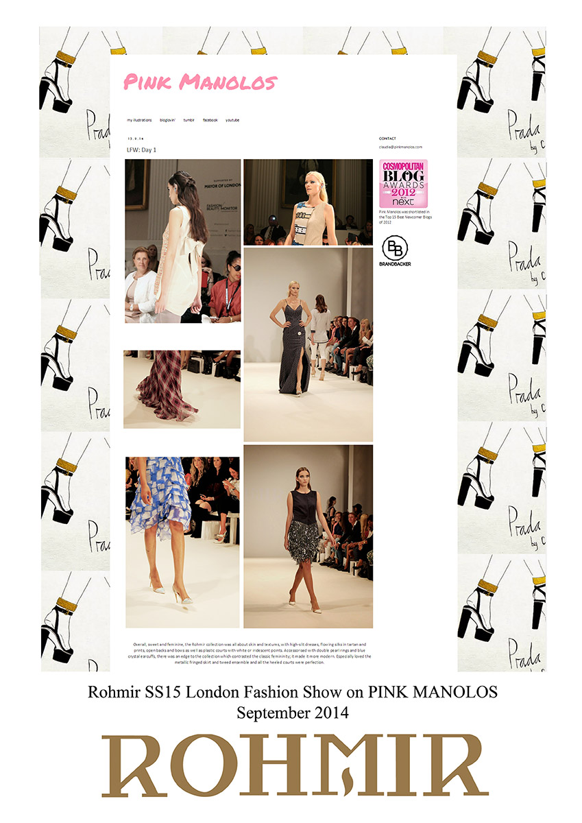 Rohmir-SS15-London-Fashion-Show-on-PINK-MANOLOS