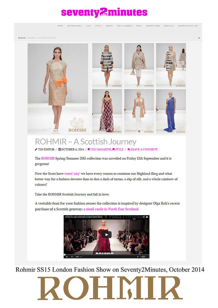 Rohmir-SS15-London-Fashion-Show-on-Seventy2Minutes-October-2014