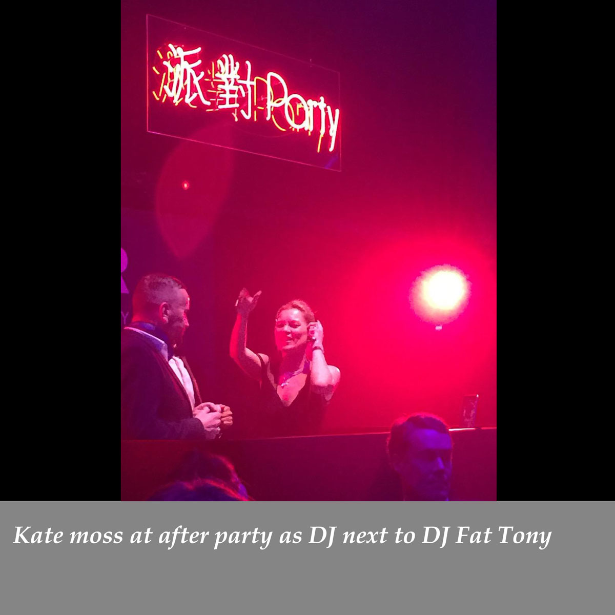 Kate-moss-at-after-party-as-DJ-next-to-DJ-Fat-Tony