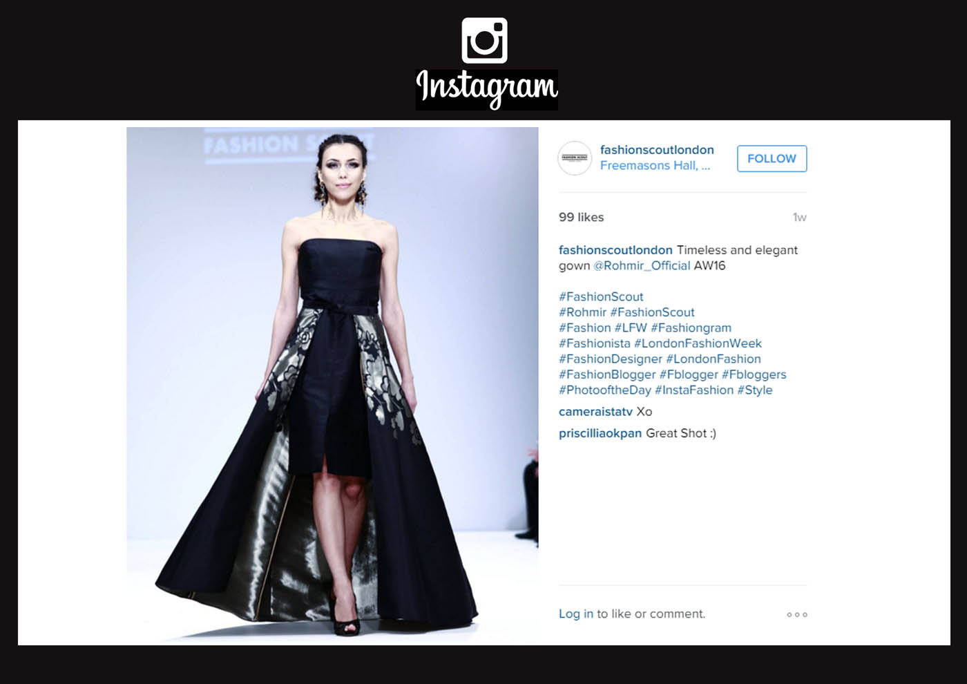FASHION SCOUT INSTA