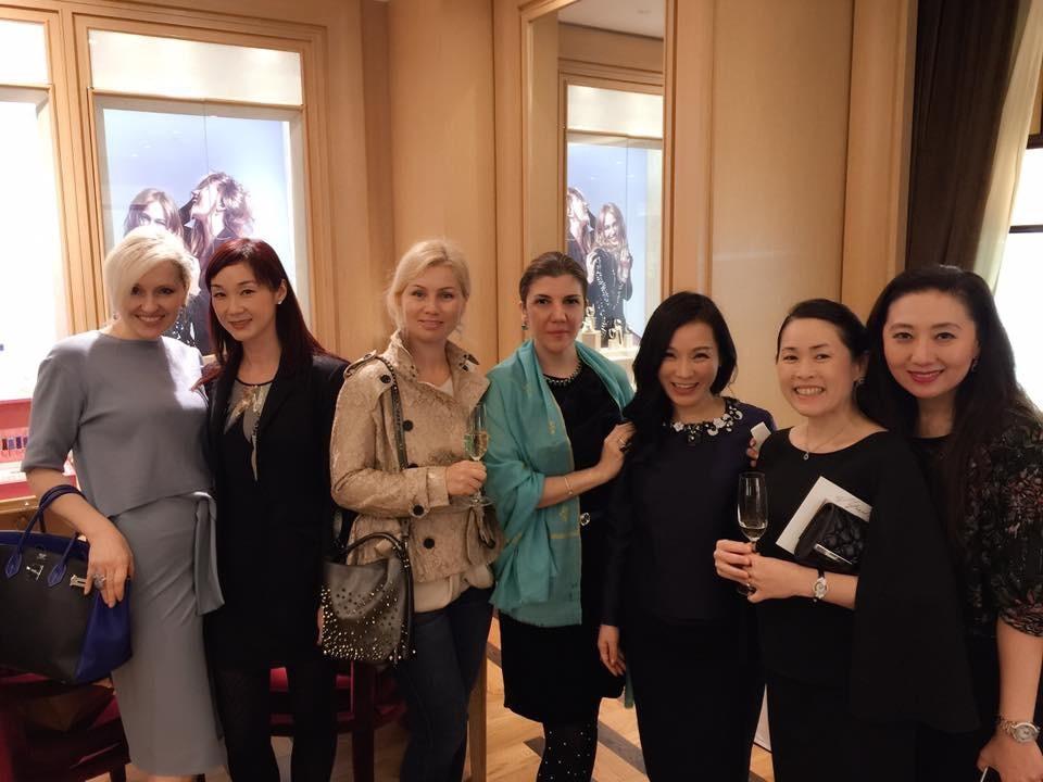 Olga Roh, Florence Ko, Kristine Makipaa, Janana Suleymanli, Rachel Park, Mayumi Hori and Suzanne Ito