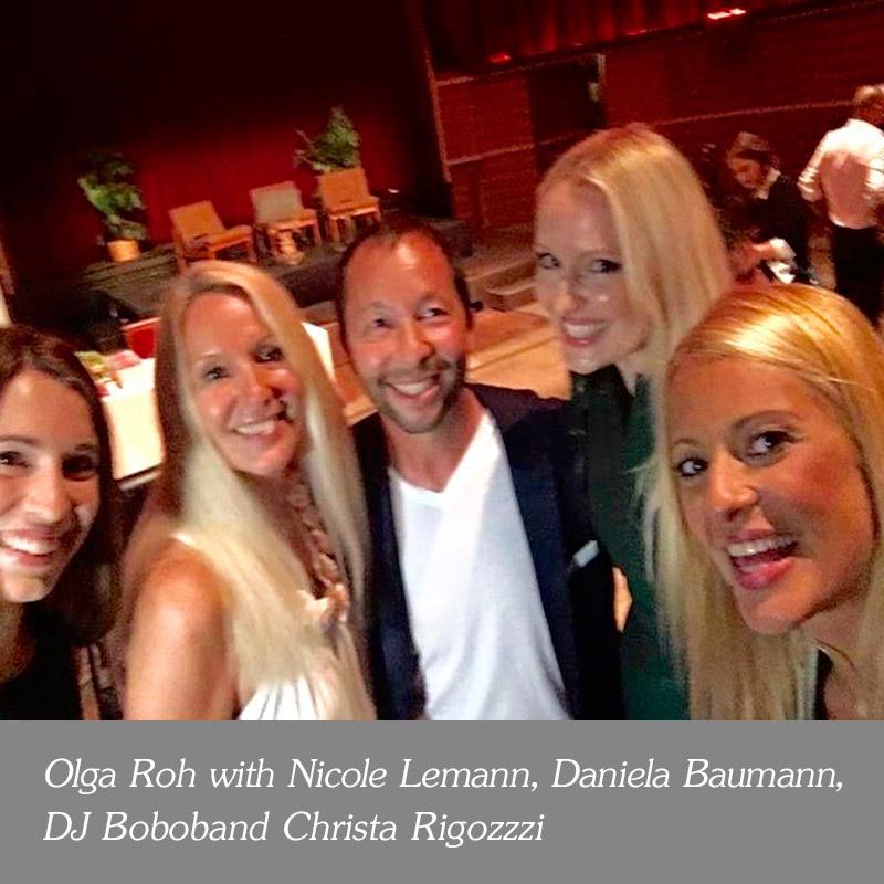 Olga-Roh-with-Nicole-Lemann-Daniela-Baumann-DJ-bobo-me-and-Christa-Rigozzzi