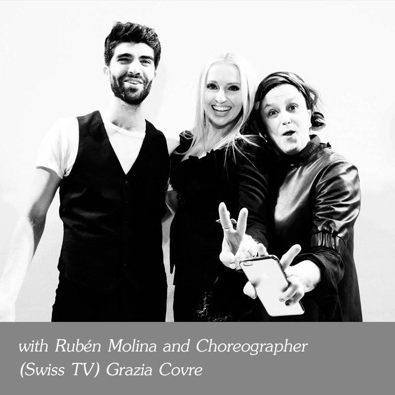 with-Ruben-Molina-and-Choreographer-Swiss-TV-Grazia-Covre