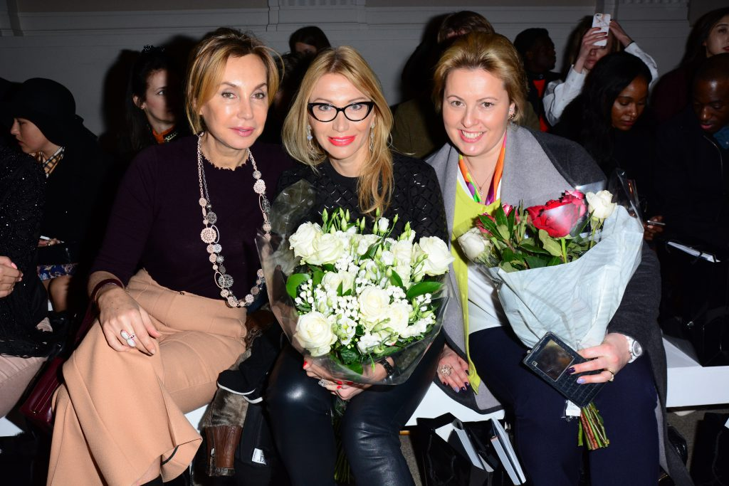 Olga Mayr- Russian Roulette Magazine Editor- In - Chief (in the middle)
